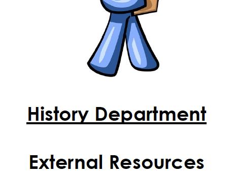 Extra Tasks/Activities Year 8 (not in pupil workbooks)