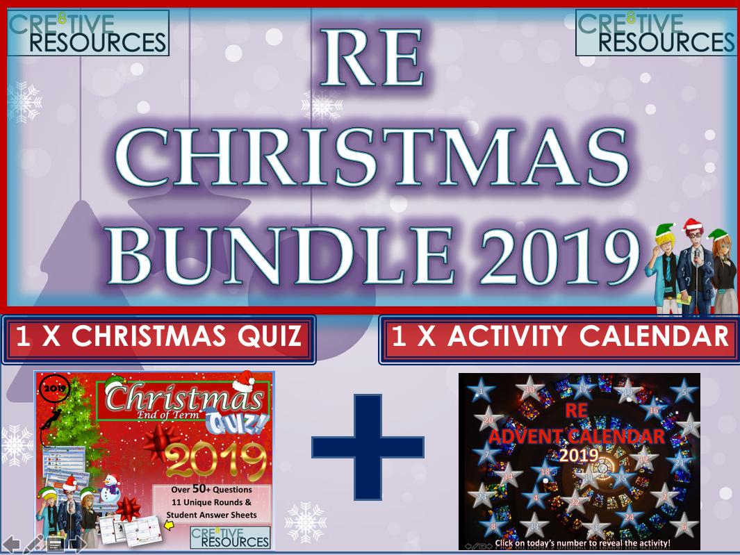 RE Christmas 2019 - Religion