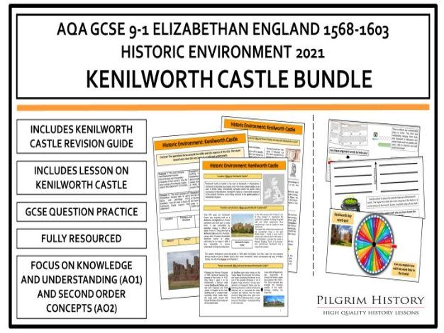 Kenilworth Castle Bundle AQA GCSE 9-1