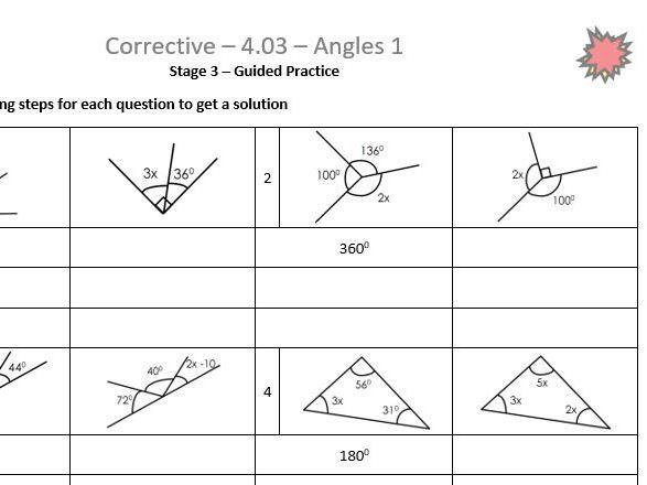 Angles 1 Corrective