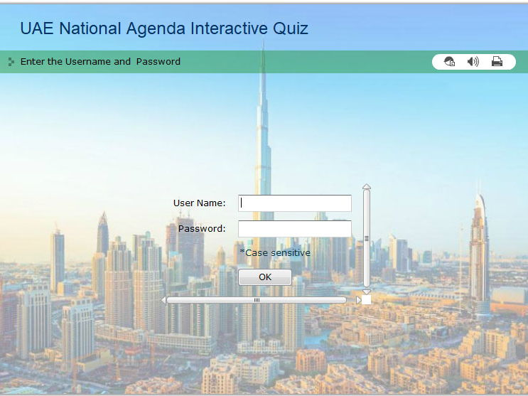 UAE National Agenda Interactive Quiz