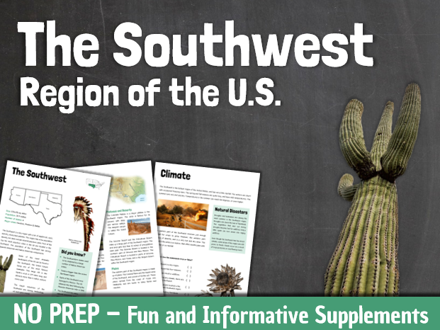Regions of the United States: The Southwest Region
