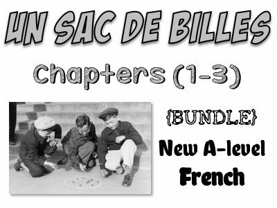 Un sac de billes - Etude des chapitres 1 à 3  - Worth £19!