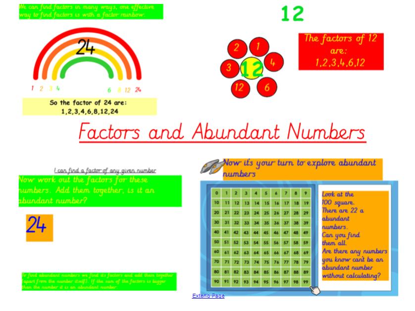 Factors and Abundant Numbers Investigation