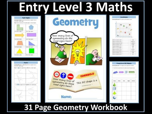 Geometry - AQA Entry Level 3 Maths