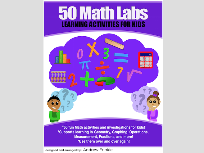 50 Math Labs - Fractions Operations Number Sense Graphing Data Math Skills