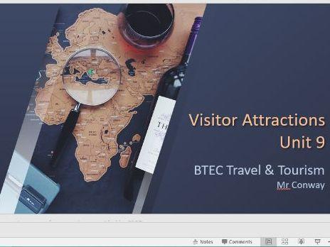 BTEC Level 3 - Travel & Tourism - Unit 9 - Visitor Attractions (unit content)