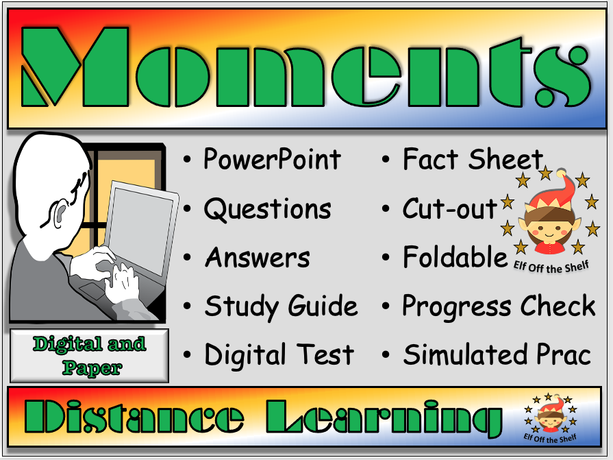 Forces - Moments - Distance Learning and Homeschool for KS3