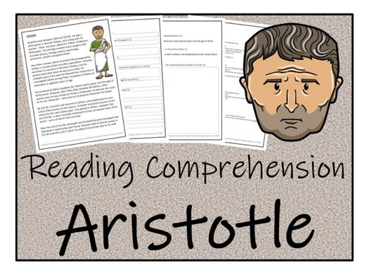 UKS2 History - Aristotle Reading Comprehension Activity