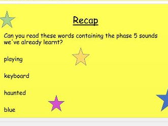 Phase 5 phonics split digraphs