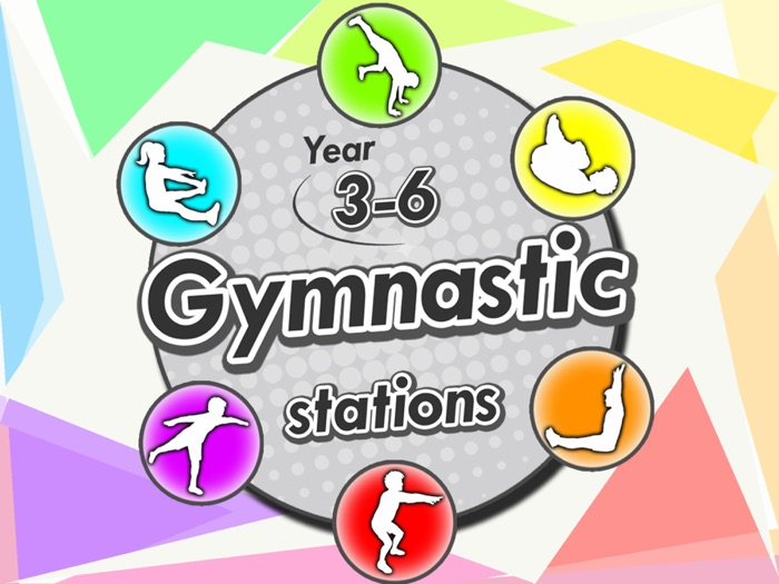 Gymnastic stations for PE - Complete skill activities & Lesson plans - year 3-6 (KS2)