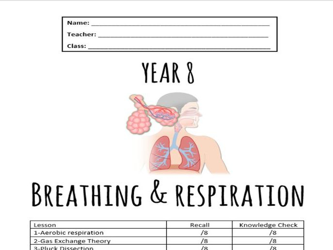Full Breathing and Respiration Booklet