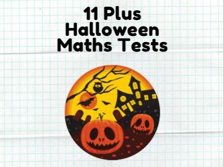 11 Plus Halloween Word Problems