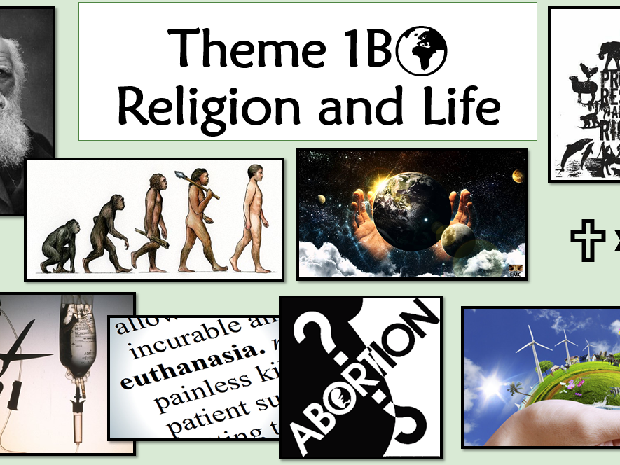 RE GCSE AQA Religion and Life Whole Unit