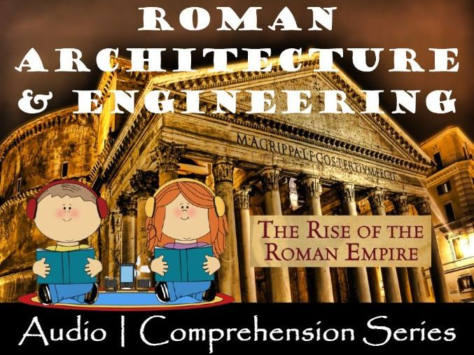 Roman Engineering | Distance Learning | Audio & Comprehension Worksheets