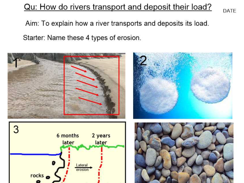 Rivers - Transportation and Deposition