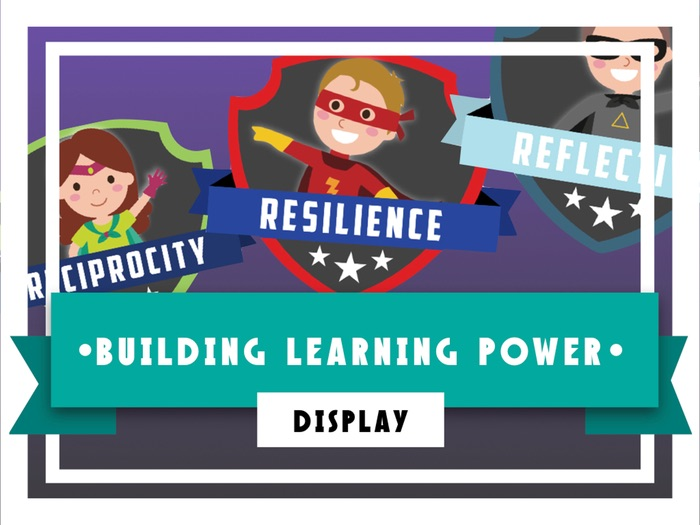 Building Learning Power Display