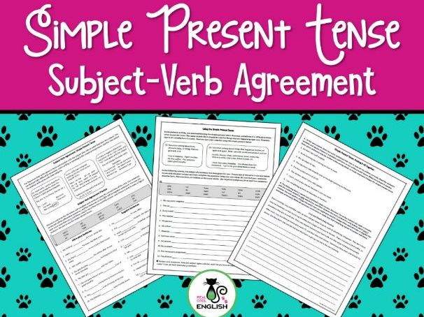 Subject-Verb Agreement Practice