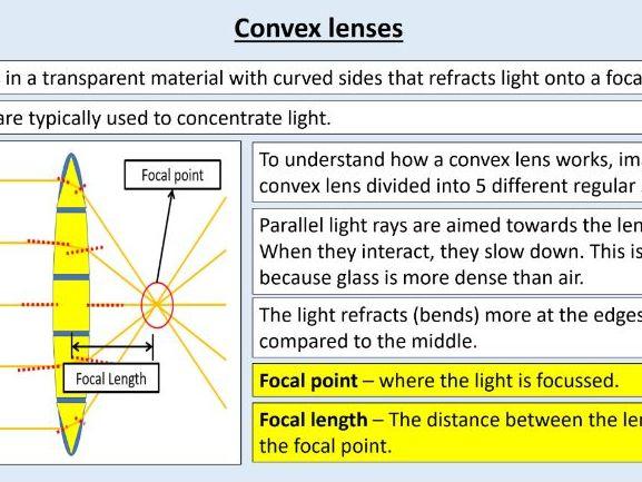 AQA GCSE Physics (4.6.2.5) Waves - Lenses