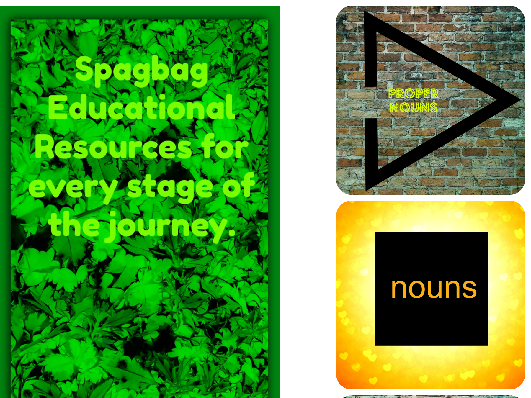 proper nouns  and spag quiz with answers