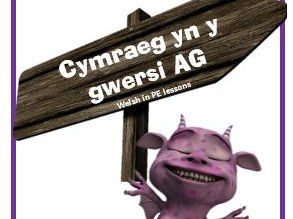 PE Lessons -Developing Progressive Incidental Welsh in the Primary School N to Y6 Booklet & Posters