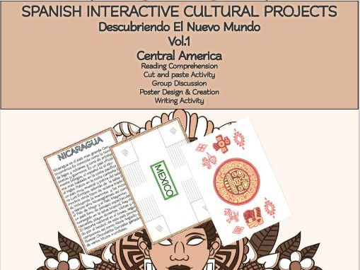 SPANISH INTERACTIVE CULTURAL PROJECTS Descubriendo El Nuevo Mundo Vol.1: Central America