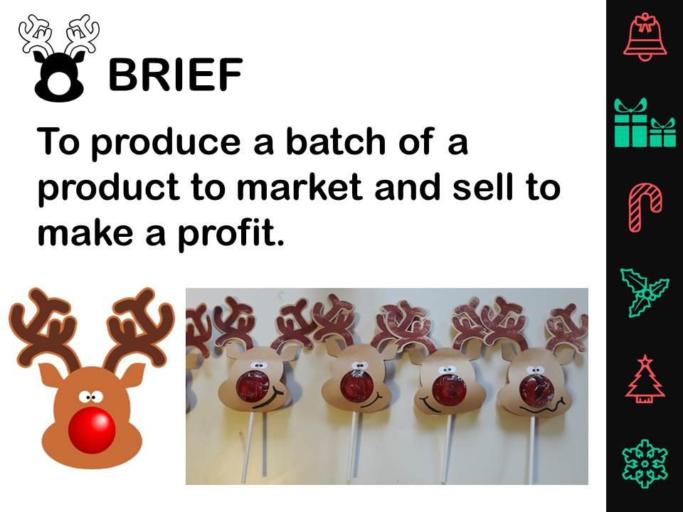 Christmas Reindeer lollies