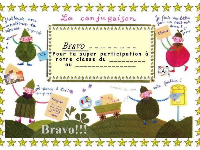 General French certificate 14/ Certificat de francais 14