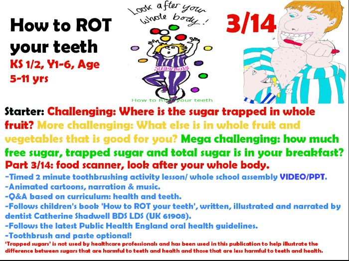 3/14 tooth brushing ppt 2 minute animated educational activity