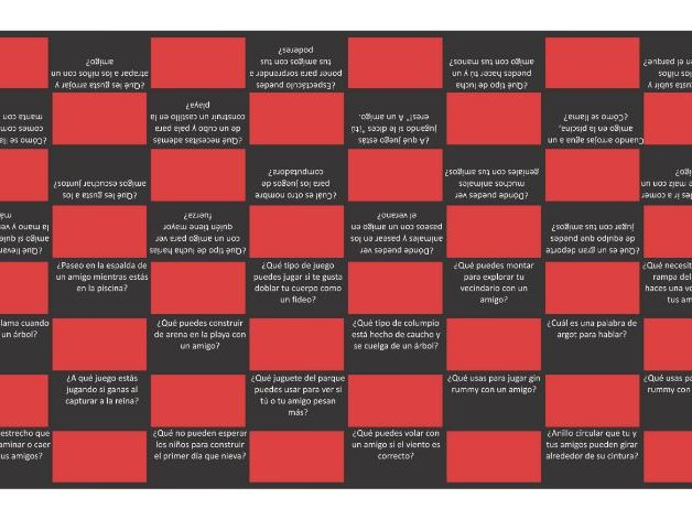Friendship Activities Spanish Checkers Board Game