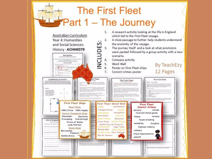First Fleet - the Journey