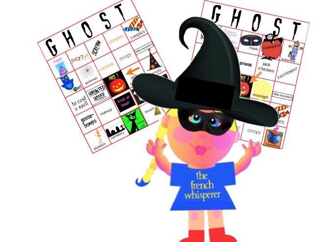 Twelve Traditional Hallowe'en Bingo cards (plus DIY and 4 Finger Bingos)