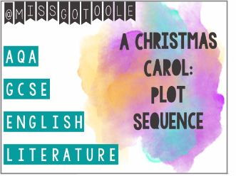 A Christmas Carol: Plot Sequence