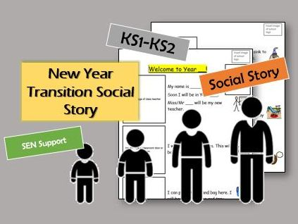 Social Story - Transitioning into a new year group