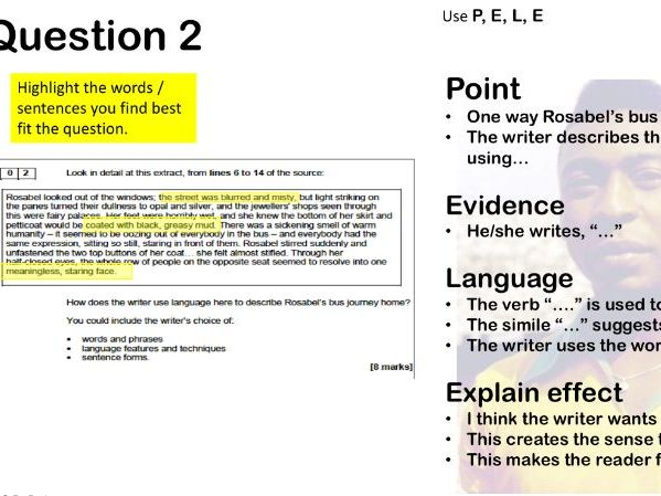 AQA GCSE English Language Paper 1 overview