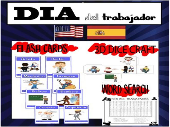 LABOR DAY - DIA DEL TRABAJO SPANISH