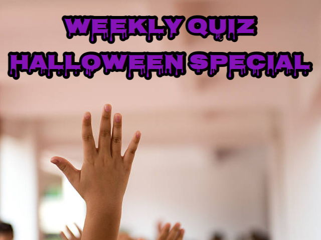 QUIZ. Halloween special! A new quiz every week. Buy once and get future quizzes free.