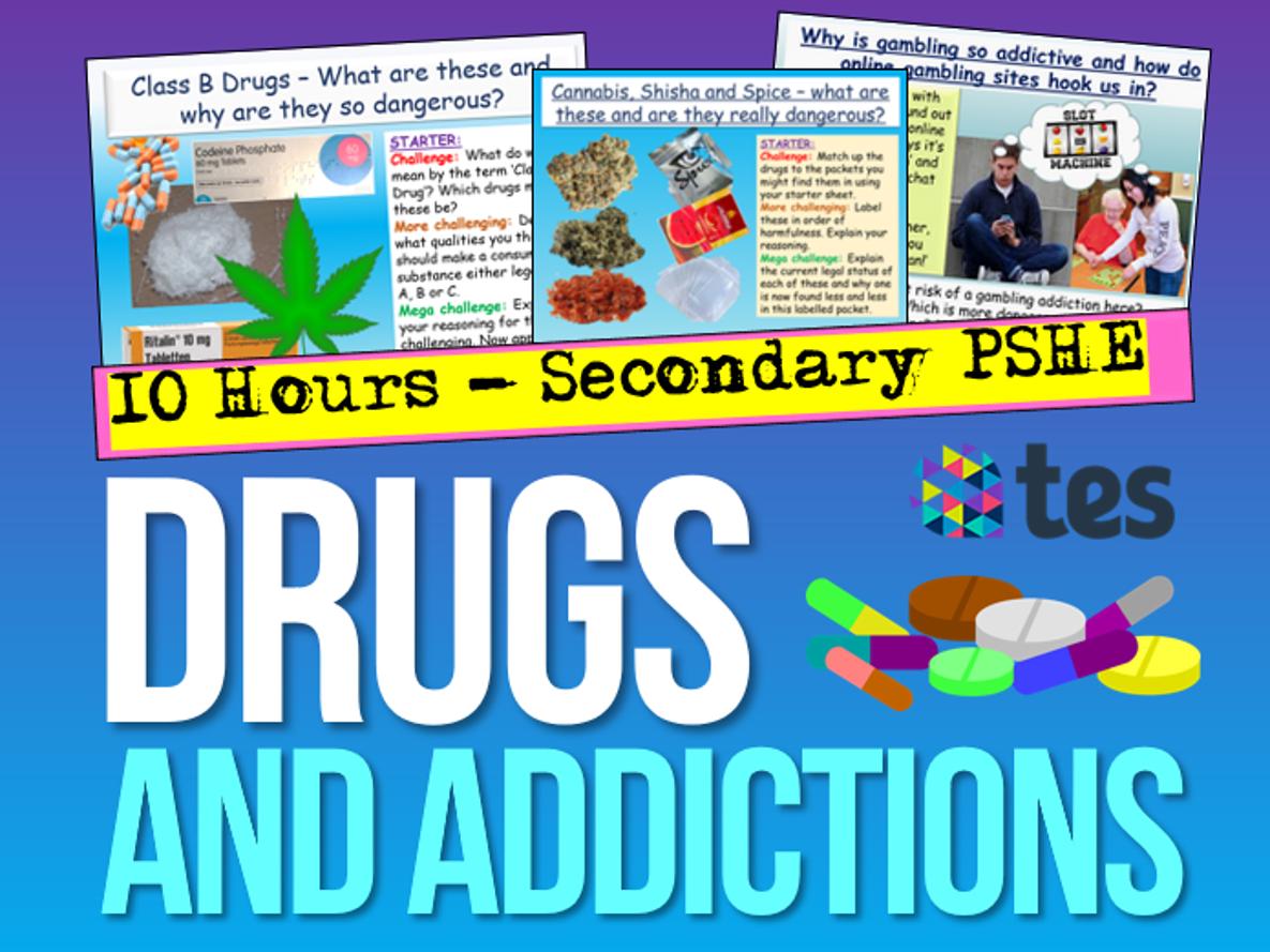 Addiction: Drugs, Alcohol, Vaping, Gambling