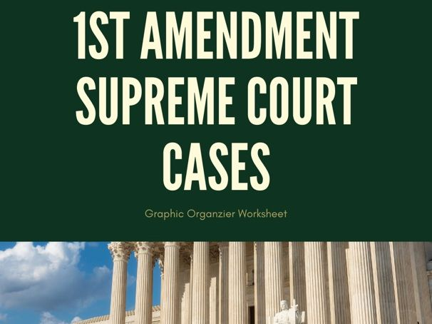 1st Amendment Supreme Court Cases