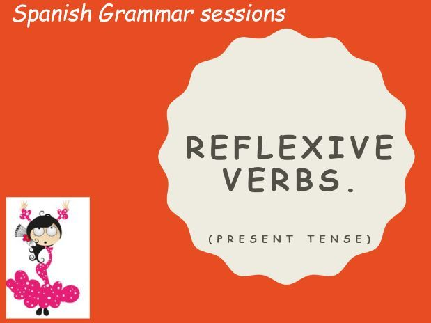 Spanish Reflexive Verbs Presentation