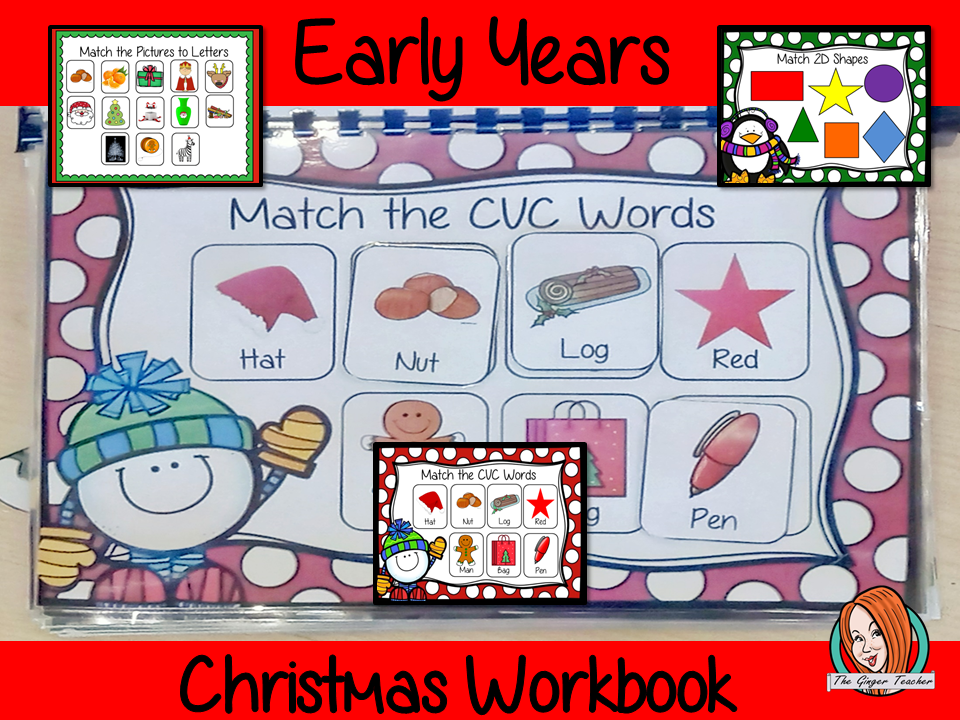 Early Years Christmas Workbook