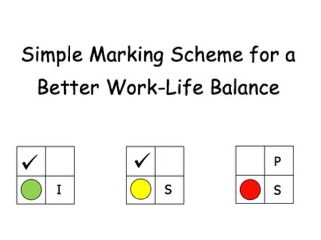 Marking Scheme | Simple for a Better Work-Life Balance!