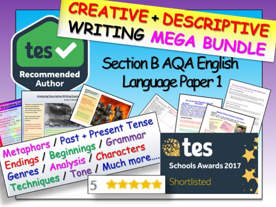 Descriptive Writing / Creative Writing - English Language