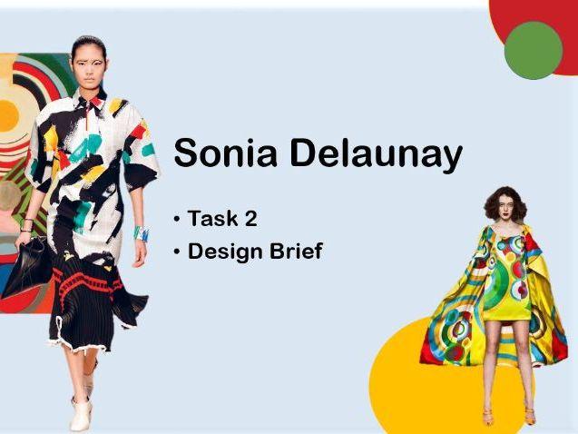 Sonia Delaunay Task 2 Design Brief