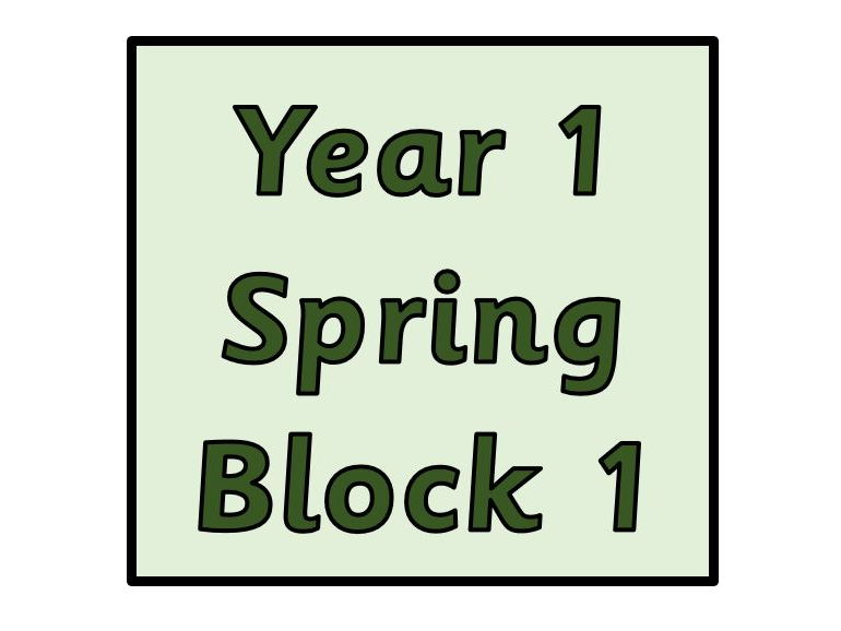 Year 1 - Spring Block 1 Addition and Subtraction (Block 5)