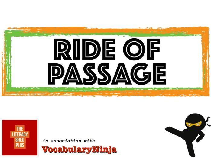 Ride of Passage Vocabulary Pack