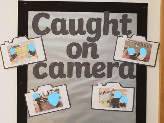 Caught on Camera Display