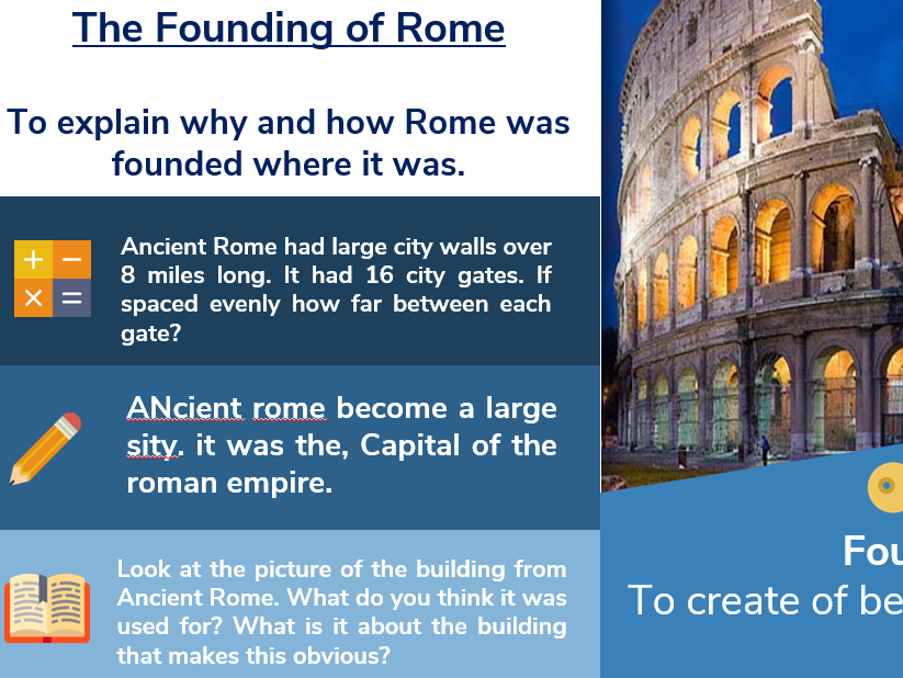 Roman Introduction 1: The Founding of Rome