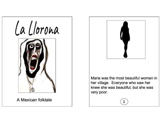 Folklore from Mexico and Central America: La Llorona easy reader kit