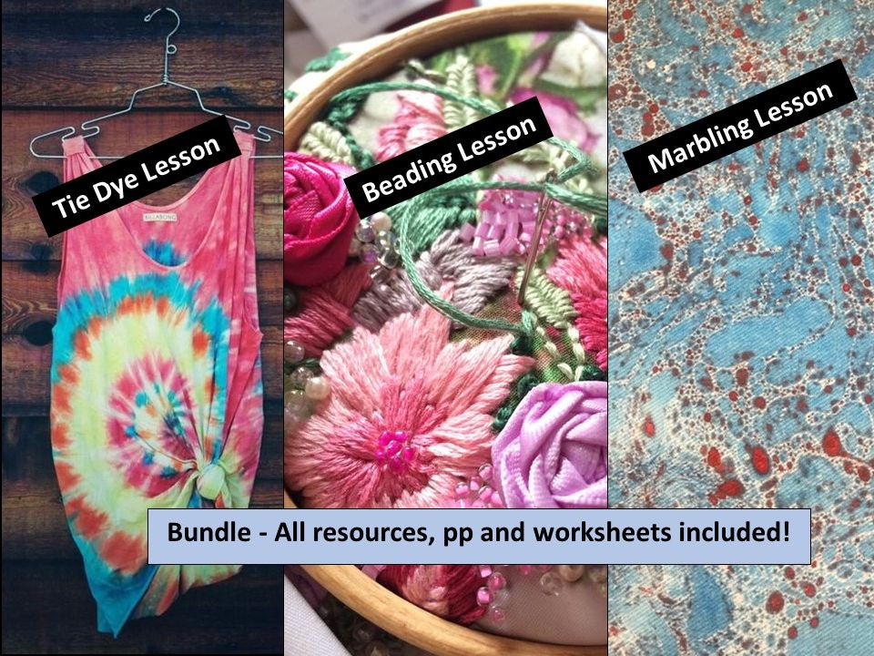 Textile Techniques Bundle